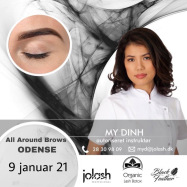Lash & Brows lift kursus d.  9 januar 21